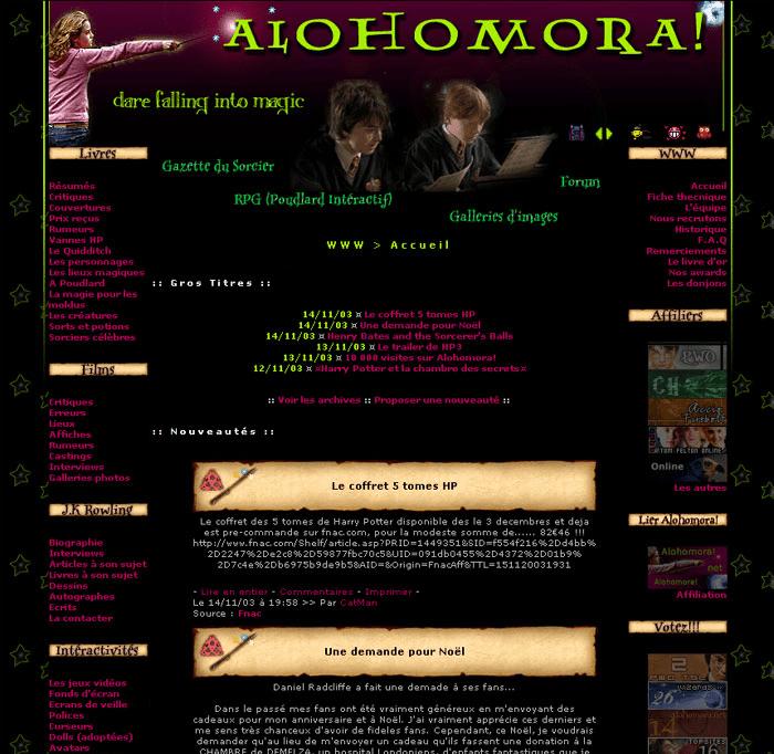 2003 Alohomora